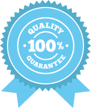 100% quality guarantee